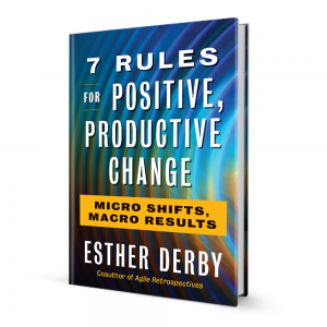 7 Rules For Positive Productive Change Book Cover